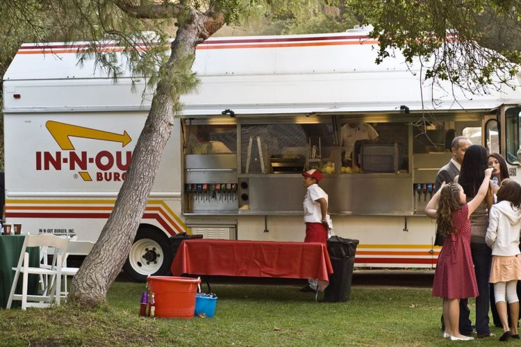Taco Trucks & In-Out Burgers