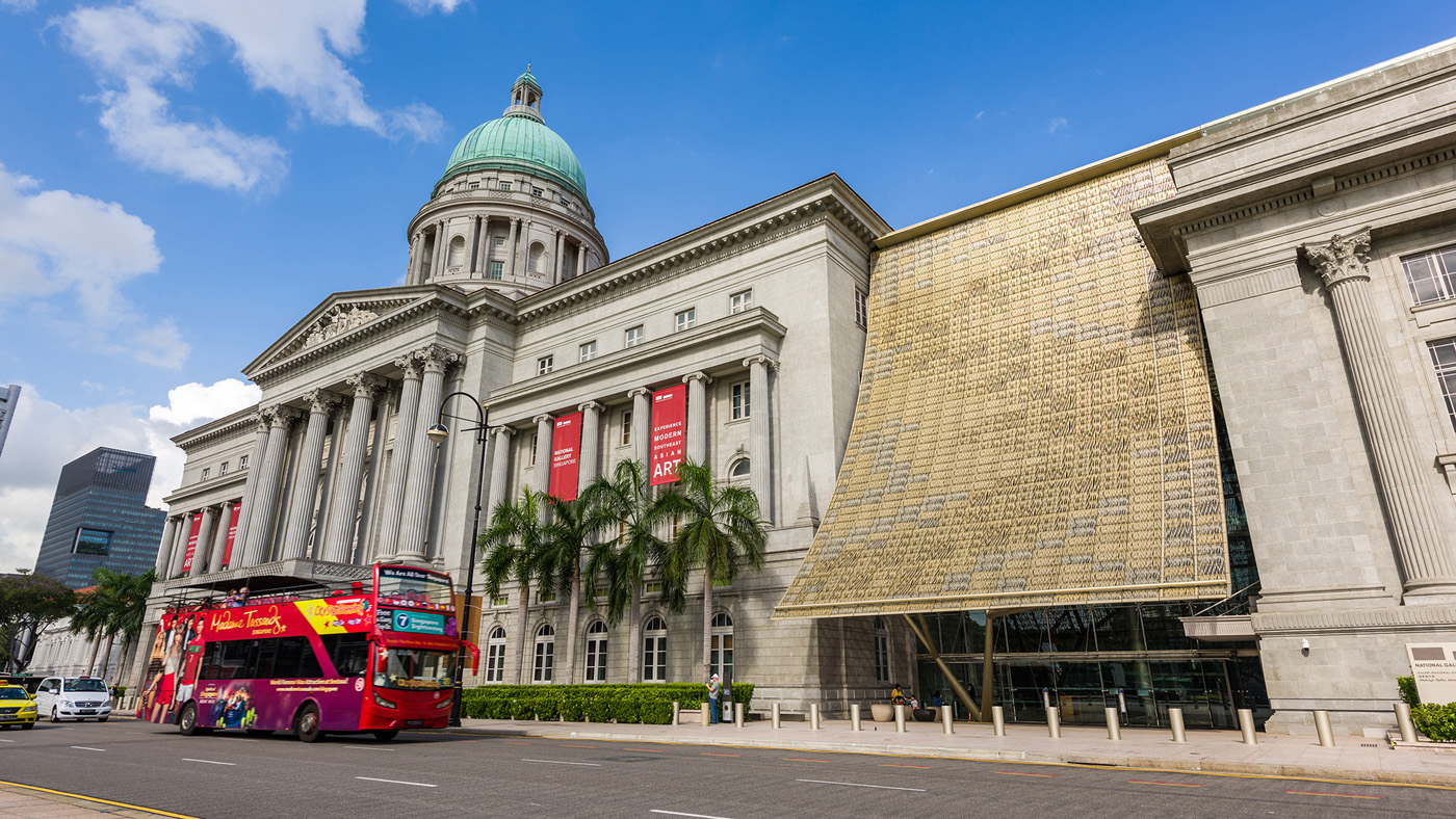 The National Gallery Singapore
