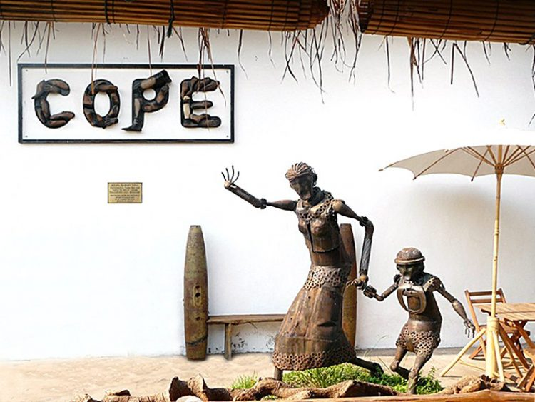 The Laos Civil War at the COPE Visitor Center