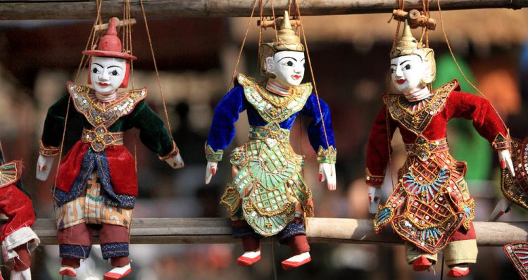 Watching the Performance at Aung's Marionette Puppet Show | 10 Best Things to do in Inle Lake Region