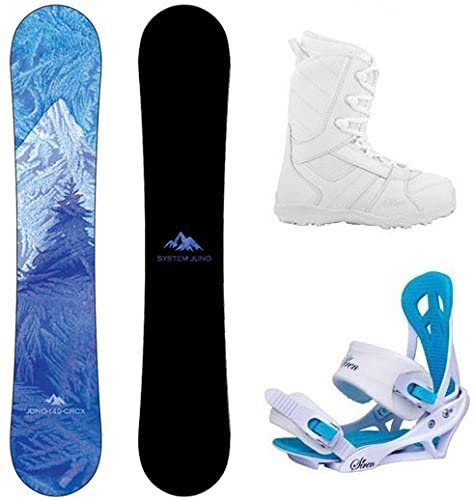 Packaged system women's snowboard
