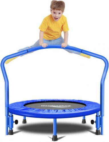 Gardenature Trampoline-36 Portable Trampoline for Kids - Kid Trampolines