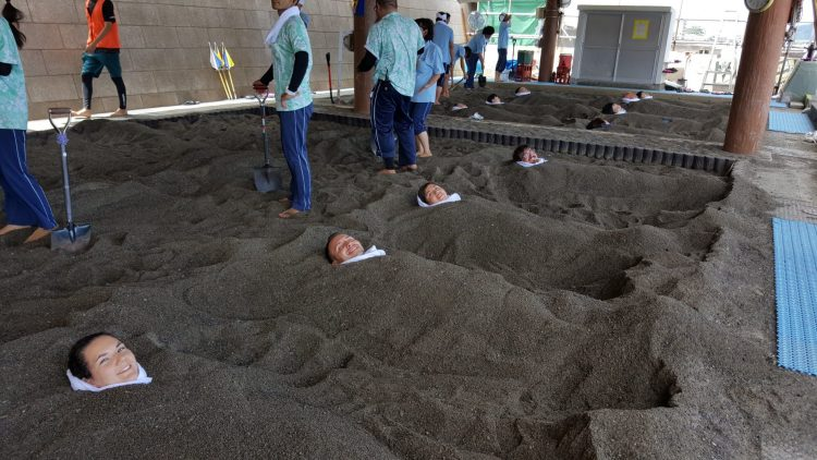 Natural Sand Bath at Center Saraku - Things to Do in Kagoshima