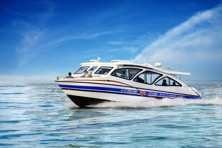 speedboat - Song Saa Private Island
