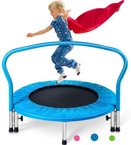 "Merax 36"" Mini Trampoline for Kids Exercise - Kid Trampolines"