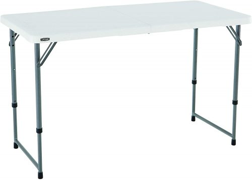 Lifetime 4428Height Adjustable Camping and Utility Folding Table