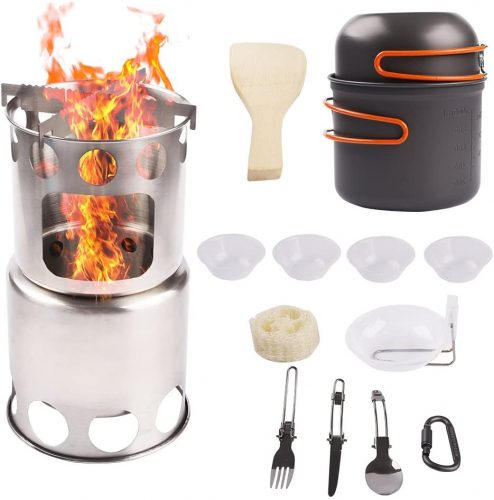 NULIPAM Camping Wood Stove