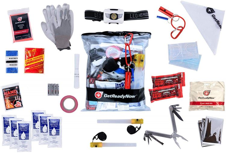 Get Ready Now Personal Emergency Car Kit