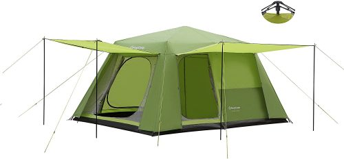 KingCamp 8-Person 2-Room Instant Camp Cabin Tent - Instant Tents