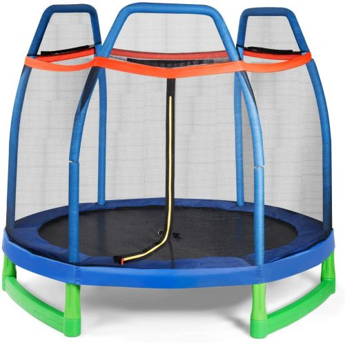 Giantex 7 Ft Kids Trampoline - Kid Trampolines