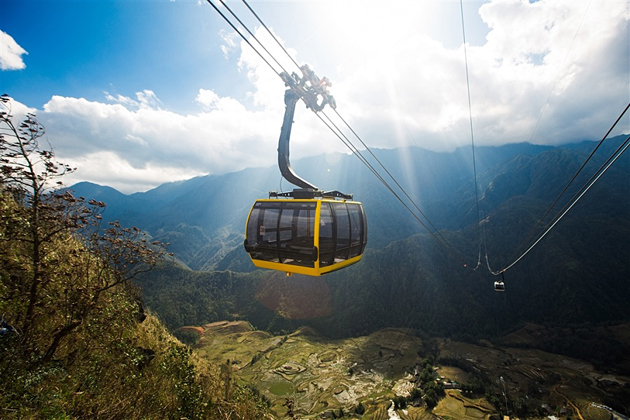 Go for a Cable-Car Ride-on Fansipan