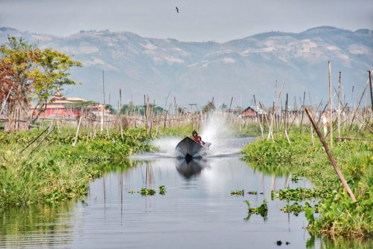 inle lake region myanmar