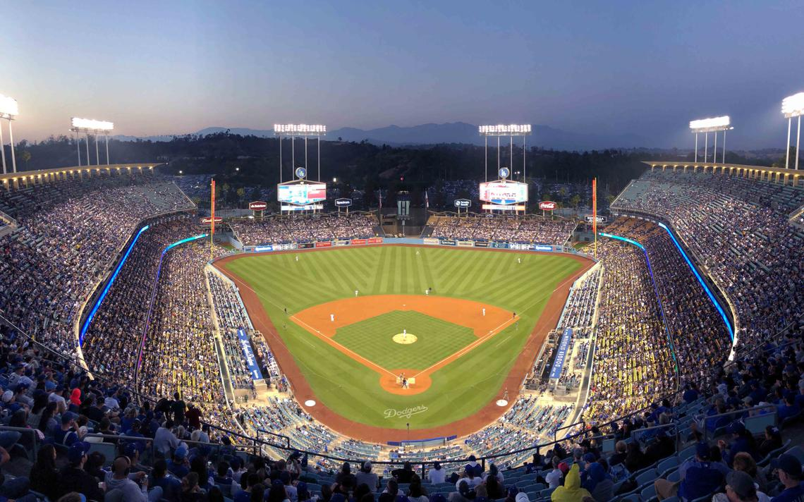 Catch a Game at Dodger Stadium
