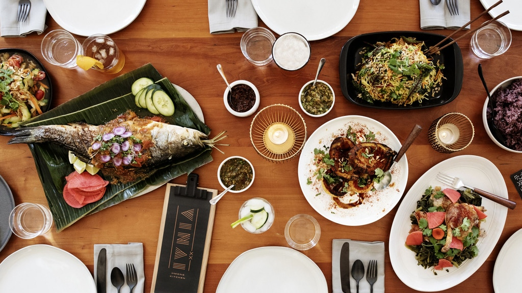Try Hmong-style cuisines