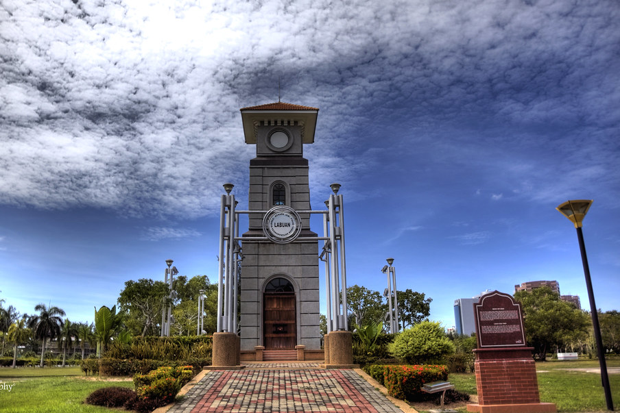Check out the amazing Labuan Clock Tower. - Things to Do in Labuan