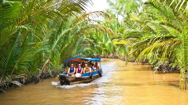 Take a Boat Ride to the Mekong Delta