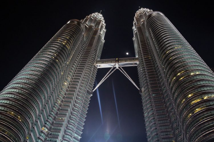 sky bridge of Petronas Towers