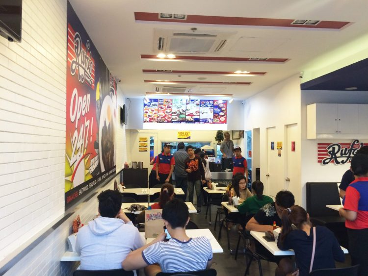 Try out Rufo's selection of breakfast items