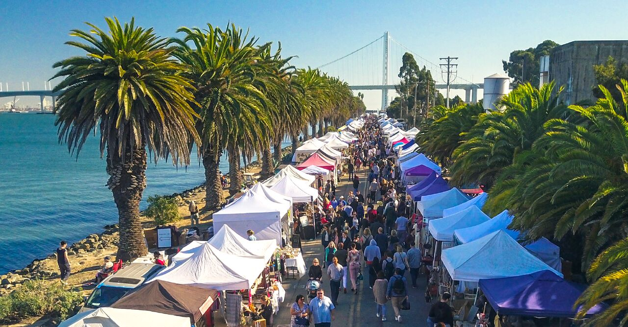Treasure Island Flea Market, San Francisco Bay Area
