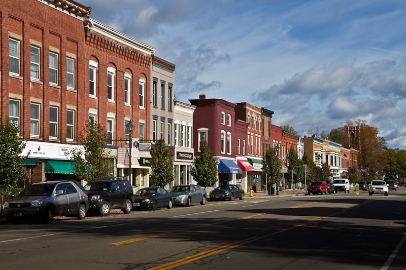 Small towns in New York
