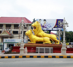 Golden Lion in Sihanoukville