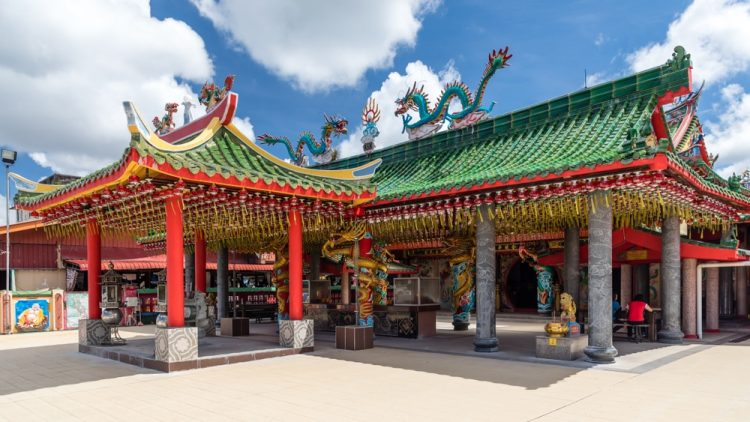 Check out Miri's most gorgeous Taoist temple