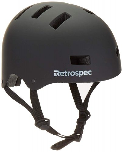 Retrospec CM-1 Classic Commuter Bike/Skate/Multi-Sport Helmet