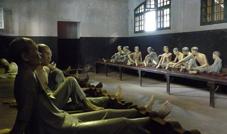 Learn about the Vietnam War at the Hoa Lo Prison