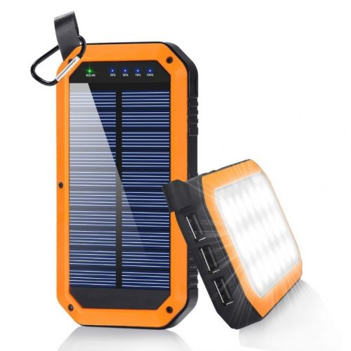 dostyle Solar Charger, 8000mAh- Solar Power Banks