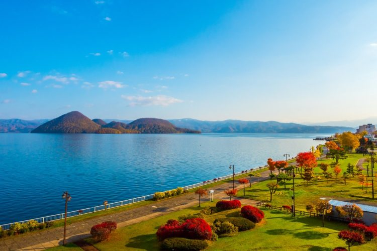 Visiting Lake Toya