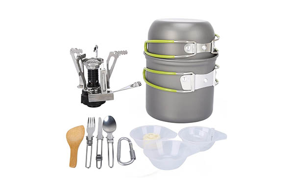 G4Free Outdoor Camping Set- Camping Cooking Sets