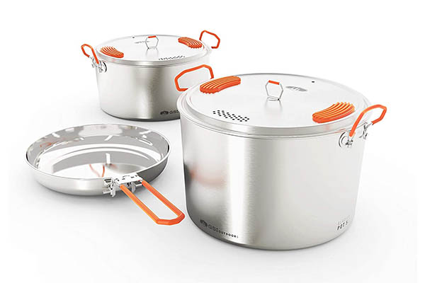 GSI Outdoors Camper Cookset - Camping Cooking Sets