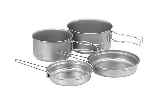 Snow Peak Compact Cook Set- Camping Cooking Sets